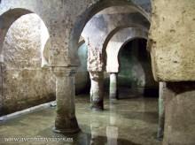 Aljibe almohade del museo de cáceres